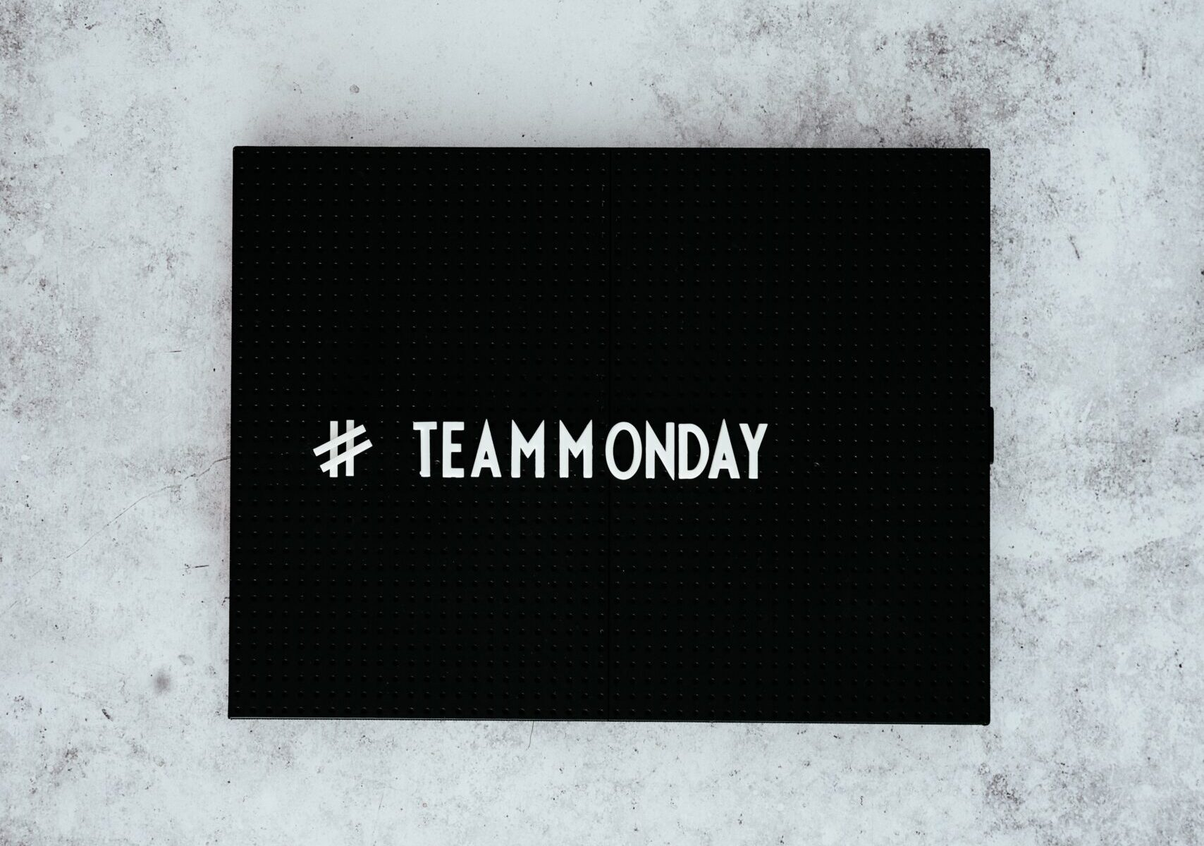 Creative Monday with Text #TeamMonday
